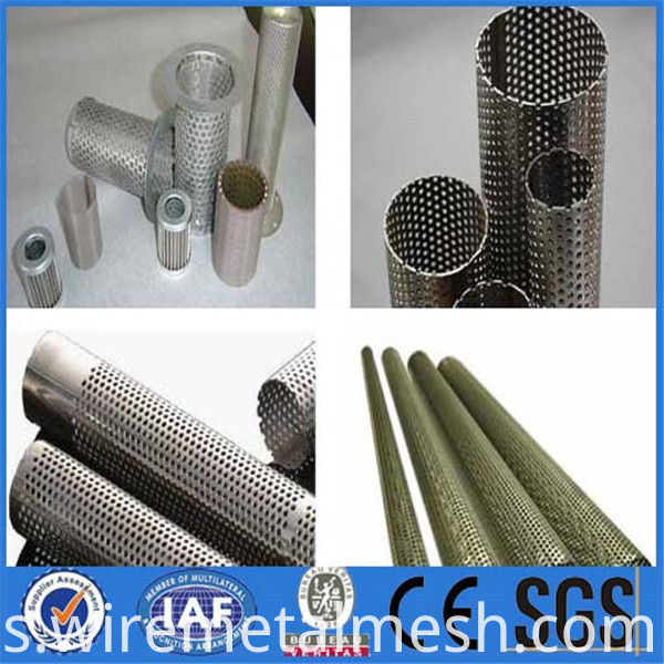 Corrosion Resistance Perforated Filter Cartridge
