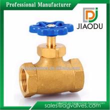 Forjado macho y hembra roscado f * f válvula de compuerta de bronce para agua o aceite