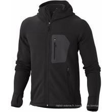15PKFJ04 2015 vente chaude à la mode des hommes polaire d'hiver veste