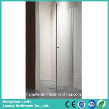 Diseño agradable puerta de cristal templado de la ducha de 6m m (LT-9-3180-C)