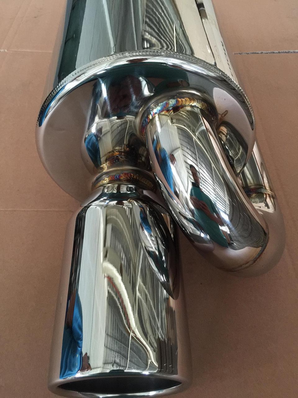 SS304 Exhaust muffler