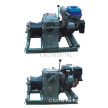 Gasoline Engine Powered Constant Tension Motorised Winch For Rope