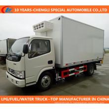Camion frigorifique de camion frigorifique de camionnette Dongefng Camion frigorifique de camion frigorifique 4X2