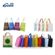 sacola de compras laminada reutilizável