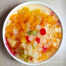Alta qualidade enlatado misturado cocktail de frutas