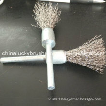 50mm Shaft Stainless Steel End Wire Polishing Brush (YY-437)