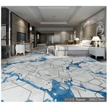 Moderner Stil 850g Cut Pile Printed Area Carpet