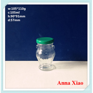 100ml Glass Tea Storage Jars