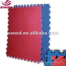 Low price taekwondo karate tatami jigsaw mat eva foam interlocking floor mats