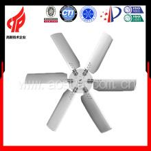 Aleación de aluminio 6 láminas Ventilador ajustable para torre de enfriamiento de agua con 1800mm