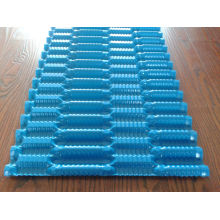 Black / Blue Industrial Cooling Tower Filling Replacement , Hh Type