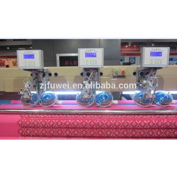 8 cabezal de ajuste de la máquina de bordado máquina de bordes de piedra rine