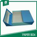 Caja de regalo de cartón de diseño de lujo superior
