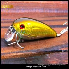 Ensemble de leurre de pêche produit chaud, leurre de pêche dur