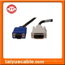 Cabo DVI para VGA / Cabo LAN para Computador