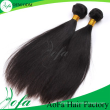 No Mix Material Short Length Malaysian Remy Hair Weave