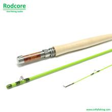 Green Leaf Gr764-3 qualidade competitiva Fiberglass Fly Rod