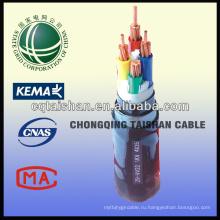 State Grid Hight Качество 300 / 500v ПВХ гибкий 4-жильный силовой кабель