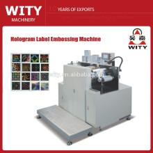 Máquina de estampado holográfico de etiquetas automáticas