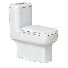 CB-9813 de cerámica de una pieza piso montado WC 0.8 / 1.6GPF ahorro de agua fácil instalación inodoro de baño