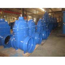 Socket End Resilient Gate Valve, for PVC Pipe, Non-Rising Stem, Ductile Iron