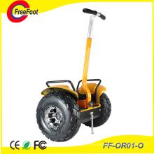 Электрический скутер с двумя колесами