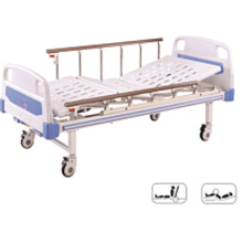 B-14 Movable Full-Fowler Muebles para hospitales Cama para pacientes con cabeceras de ABS