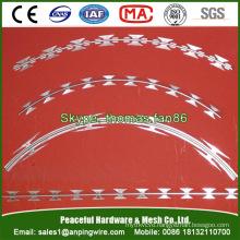 Hot Dipped Galvanized Concertina Razor Wire / Barbed Wire
