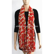 Printed Modal and Silk Blended Scarf