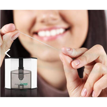 Wall Mount Dental Floss Apparatus