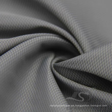 Resistente al agua y al aire libre ropa deportiva al aire libre chaqueta tejida Phantom Plaid & DOT Jacquard 38,5% Nylon + 61,5% tela de poliéster (NJ045)