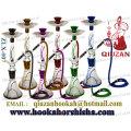 Beautiful Large Smoking Hookah With Colored Fringe On The Vase