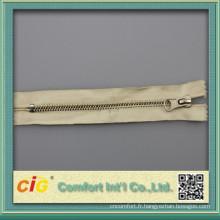 fermeture éclair en laiton de 100 % coton bande #5