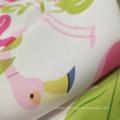Tissu en mousseline de soie crêpe mousse imprimé numérique