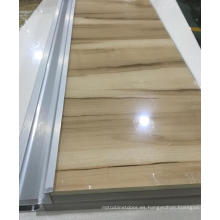 Woodgrain Acrylic puertas de cocina (personalizado)