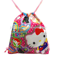 eco cartoon polyester backpack for kids