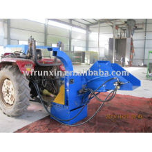 CE approved Wood chipper with htdraulic feeding system (tractor/PTO type)