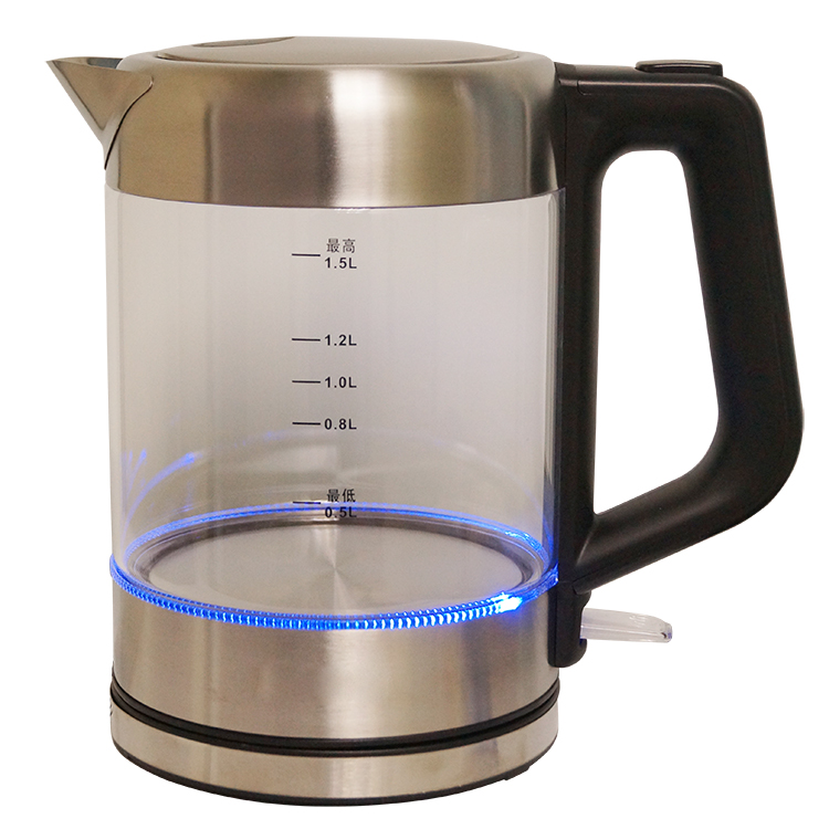 Electronic Kettle With Blue Light