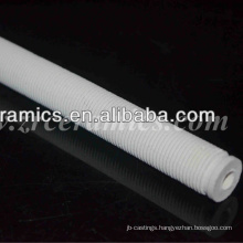 cordierite ceramic screw thread tube