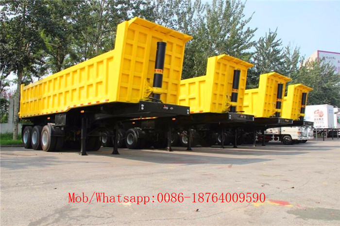 Side Dump Semi Trailers