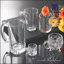 Taza grande de cristal del té de 8oz Taza de cristal (GB094508)