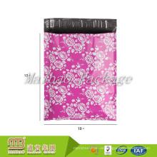 Kundenspezifisches hellfarbiges Drucken 10X13 Rosen- / Blumen- / Blumenmode-Entwurfs-Polybriefträger