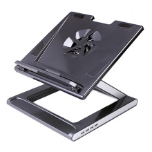 """10""""-17"""" Notebook Laptop Stand with 4 Ports USB2.0 Hub"""