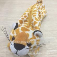 Plush animal pencil case toys