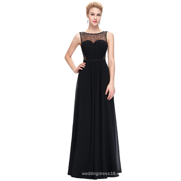 Starzz sin mangas de gasa vestido de fiesta vestido de fiesta de baile ST000064-1
