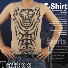 Heat transfer printing tattoo t-shirts