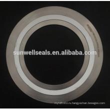 Спиральные набивочные прокладки с прокладками из PTFE 316L / 304 (SUNWELL)