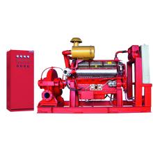 Пожарный аварийный насос UL с дизельным двигателем (XBC-SLOW80)