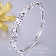 2018 tendance produits carré en forme de bijoux de mariée bracelet