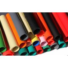 Hoja de plástico de colores de PVC